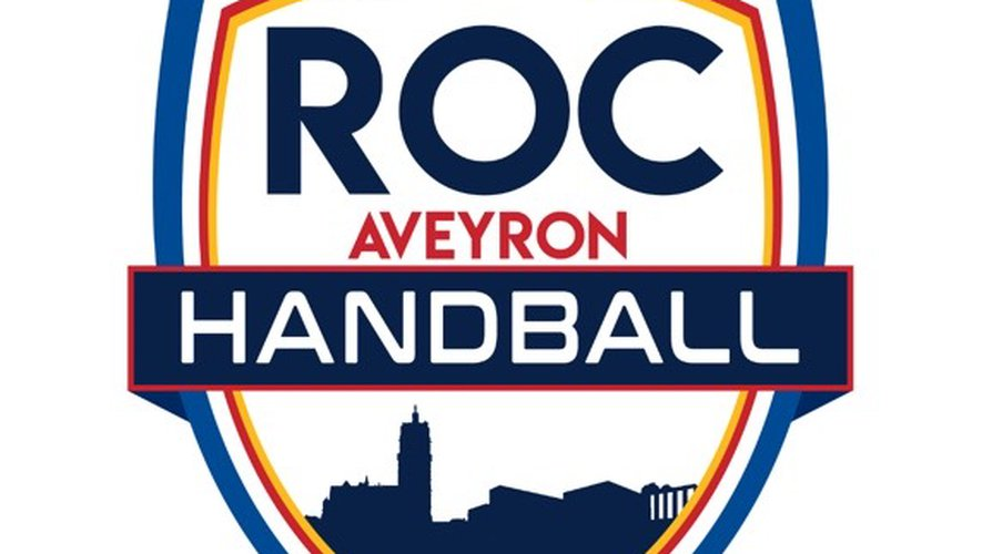 Le nouveau logo du Roc Aveyron handball.