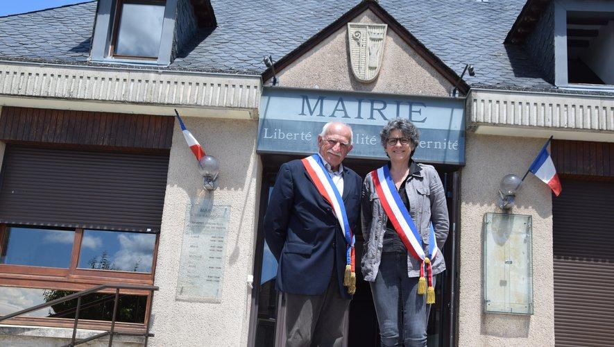 René Pagès, maire de Taussac et père de Laurence devenue maire à Sainte-Radegonde.