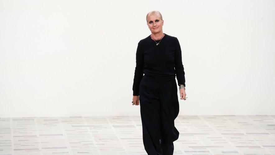 La créatrice des collections femme de Dior Maria Grazia Chiuri.