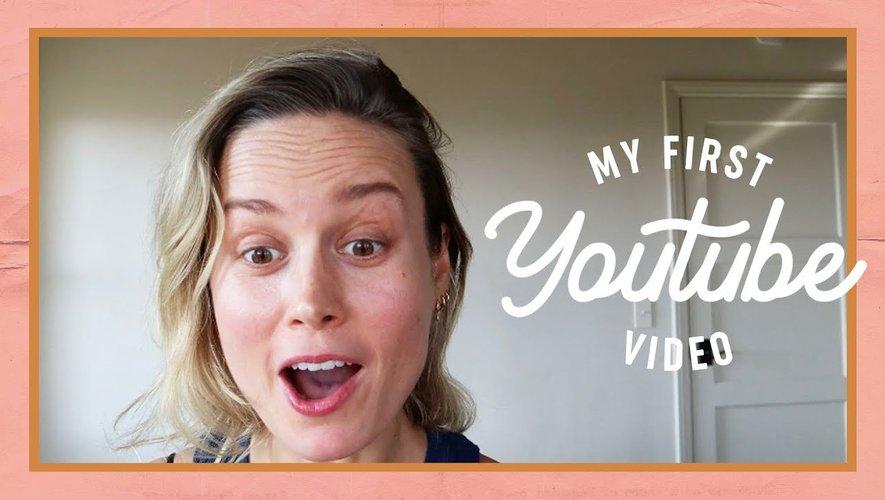 Brie Larson a brillamment débuté sur YouTube en couvrant de multiples sujets.