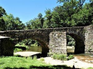 Le pont de Comencau.