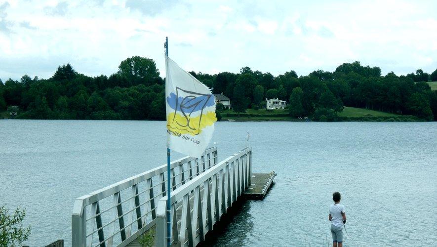 Le ponton d'Egalité sur l'Eau,vide cet été.