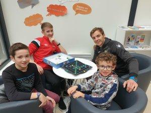 Les jeunes trouveront des jeux adaptés à leur âge au Bercail