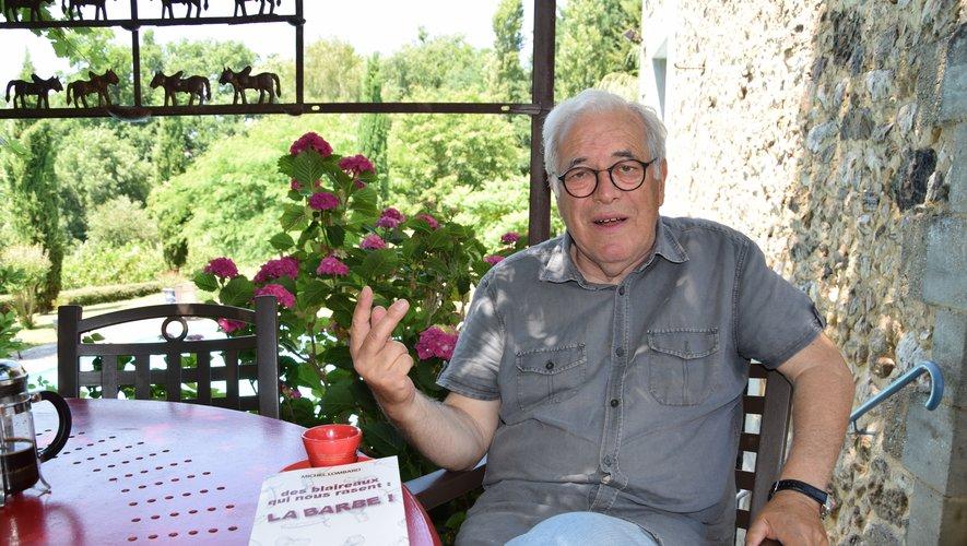 Michel Lombard, le local de l'étape, sera bien entendu présent pour cette fête autour du livre.
