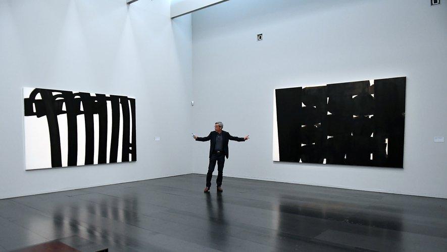 Ces deux grands tableaux vont désormais être la propriété du musée et un grand format, peint en 2019 les rejoindra bientôt…