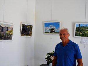 Aller voir l'exposition c'est aussi l'occasion d'échanger avec Yves Sudres sur sa passion pour l'art de la photographie.