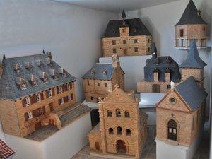 La salle des maquettes de Robert Goudergues.