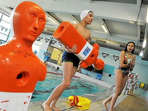 Les activités de sauvetage sportif se démocratisent dans la cité du gant.Victor guilloteau