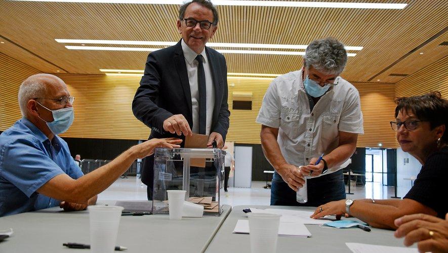 Seul candidat, Christian Teyssèdre a été réélu à la présidence de l'Agglomération.