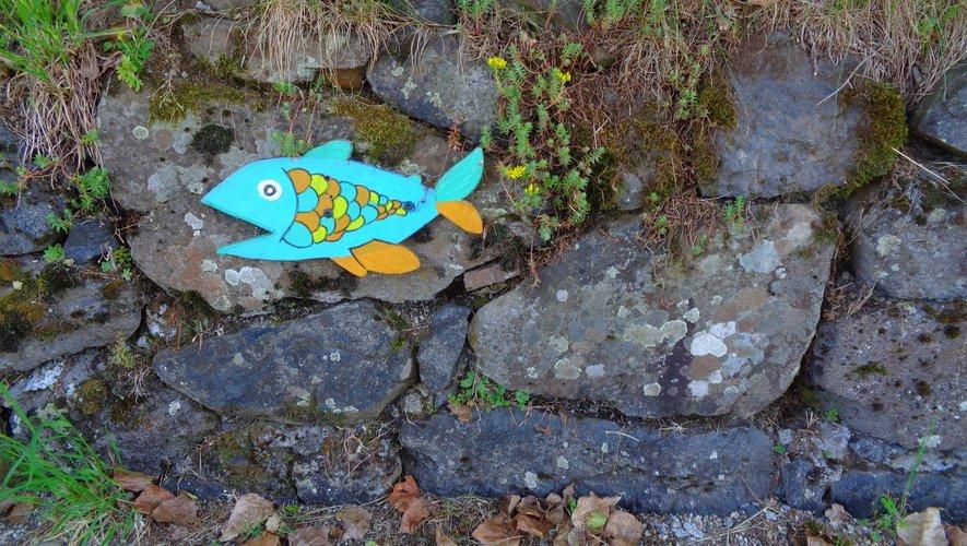 A Brommat, suivez les poissons.