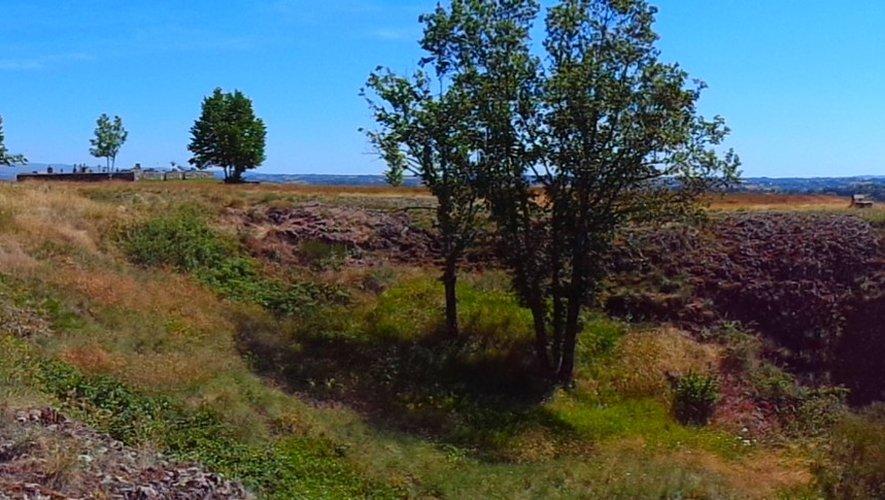 Le rocher de Ronesque, un jardin suspendu.