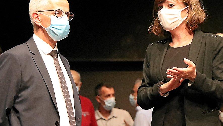 Christophe Saint-Pierre et Emmanuelle Gazel se font à nouveau face.