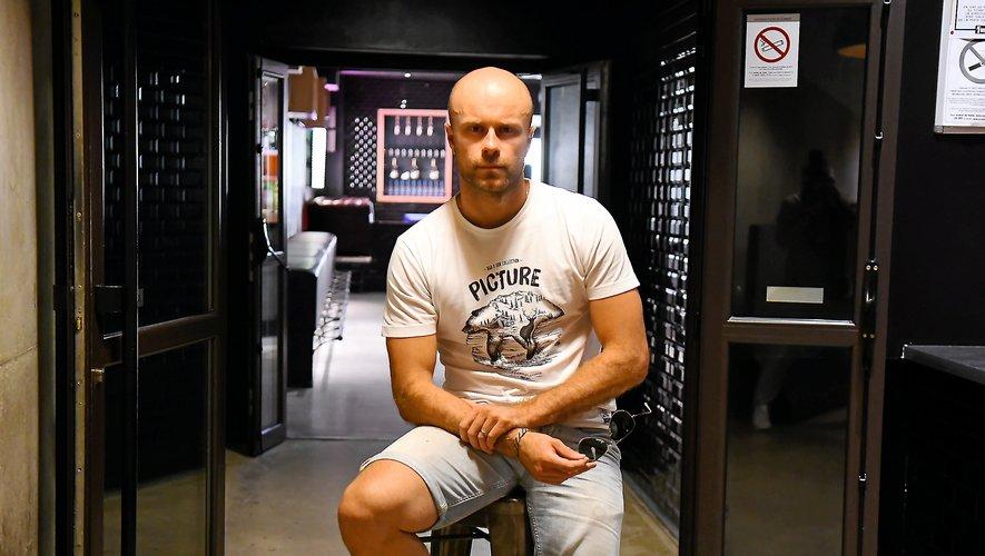 Tristan Bares, le gérant de la discothèque le Loft 89 à Rodez.