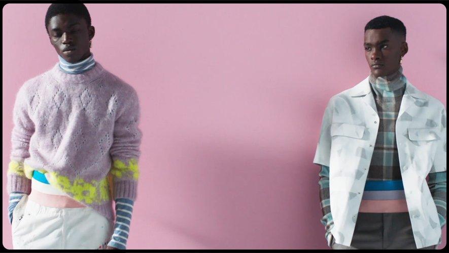 Dior Homme pour la Paris Fashion Week Home printemps-été 2021