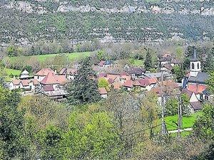 Le village de Saujac