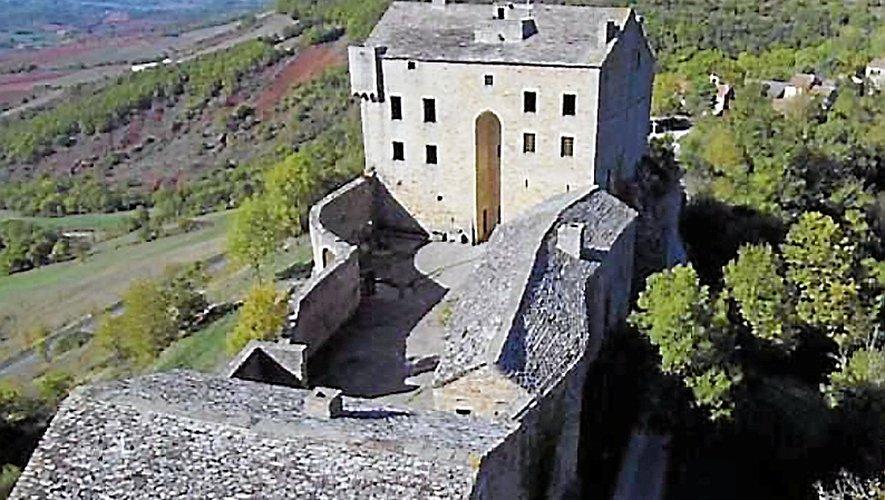 Le château de Montaigut est l'un des plus anciens du Rouergue.iens du Rouergue.