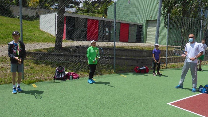 Découverte de la discipline avec le Tennis club de la Route d'Argent