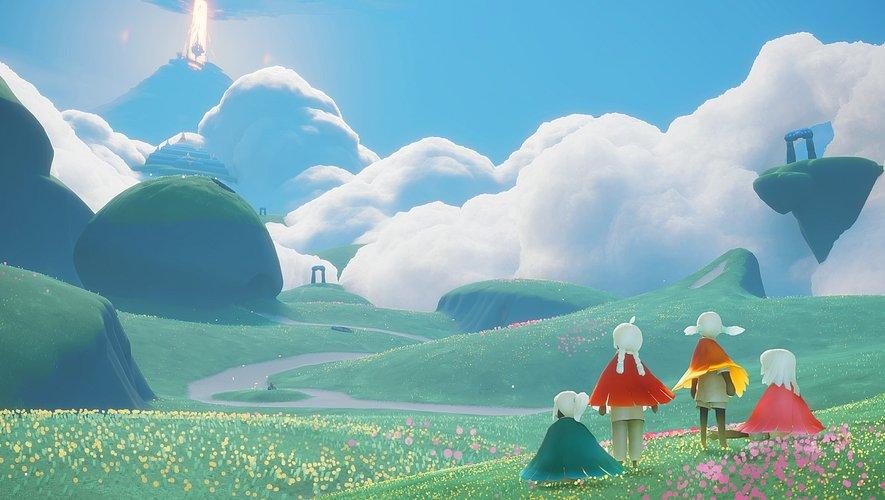 """""""Sky: Children of the Light"""" encourage l'amabilité et la collaboration chez les joueurs"""