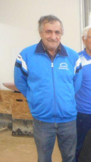 Francis Zarate était le président des Amateurs boulistes decazevillois depuis 2 ans.