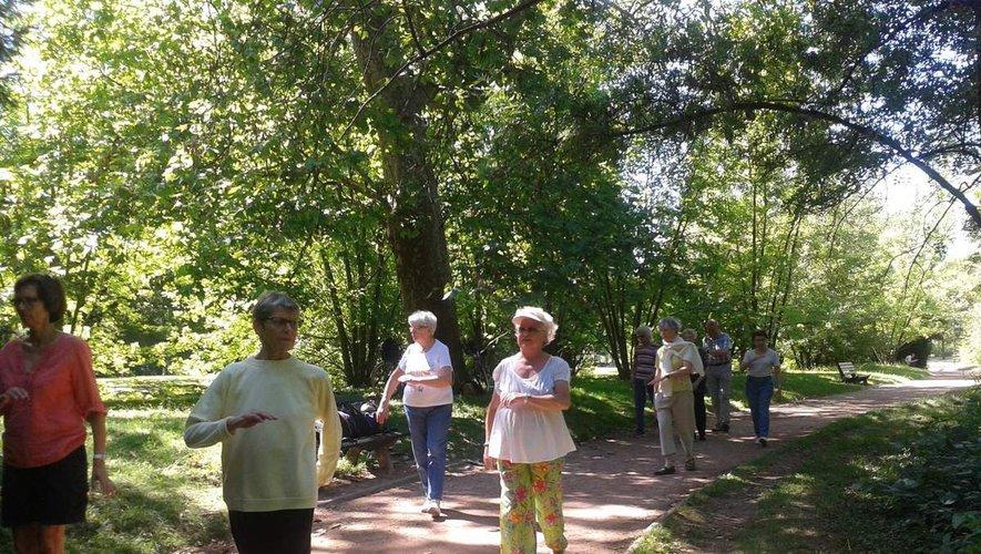 Les marches de Santé mercredi 22 et dimanche 26 juillet, réservez votre marche bien-être.
