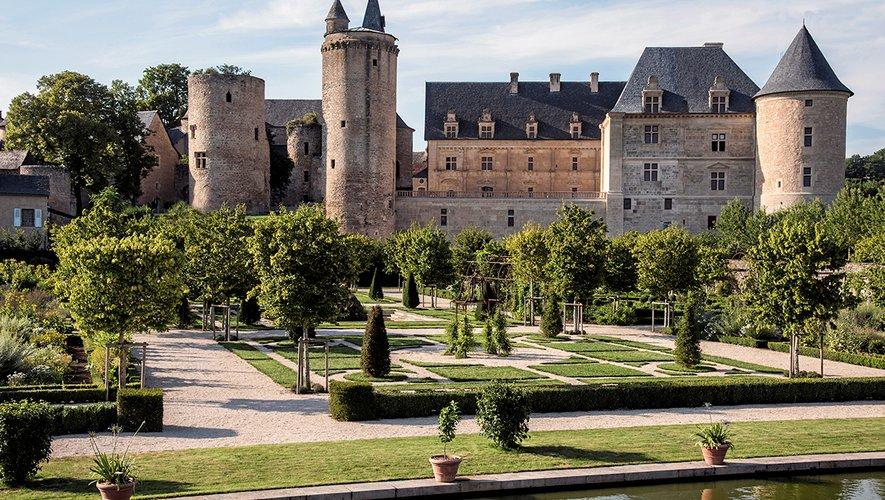 Le château de Bournazel, chef-d'oeuvre architectural