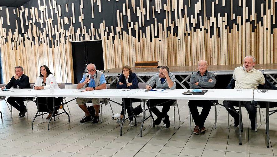 Les dirigeants de LSA ont mené l'assemblée générale.