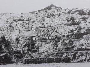 La découverte à Decazeville avec son système de plans inclinés et de wagonnets.