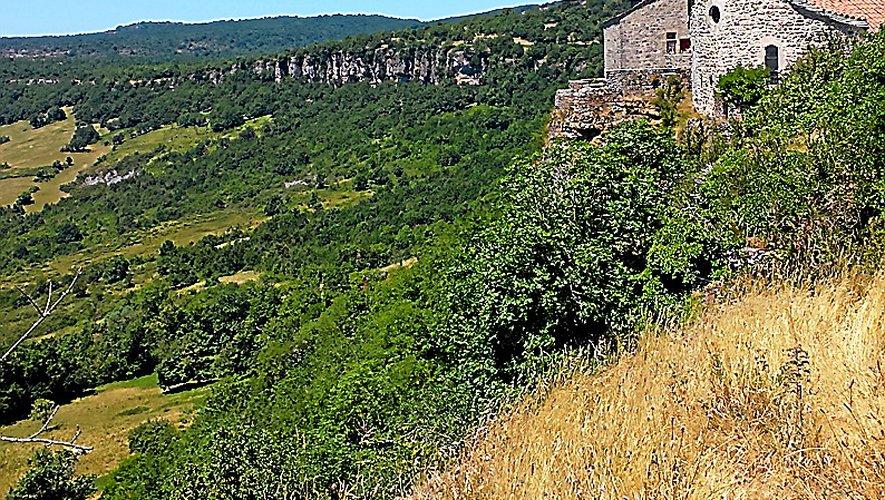 Le plateau de Guilhaumard.