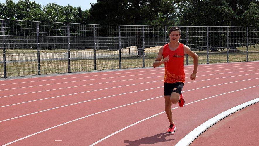 L'adepte de demi-fond a marqué les esprits en battant le record d'Occitanie du 3 000 m chez les minimes.