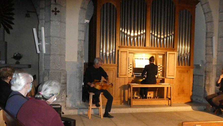 Concert Orgue et vielle.