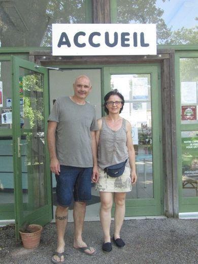 Gérald et Chantal motivés malgré les restrictions sanitaires.
