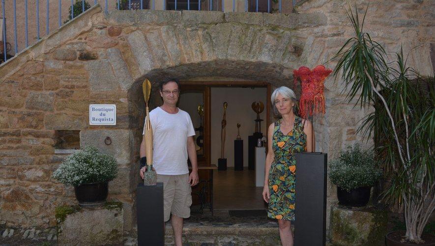 Stéphane Szendy et Monika Liné-Gölz.