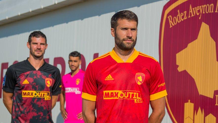 Les nouveaux maillots du Raf pour la saison 2020-2021.