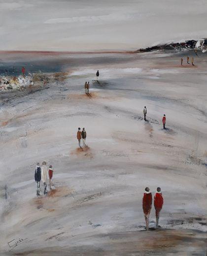 Une des œuvres de Chantal Grès.