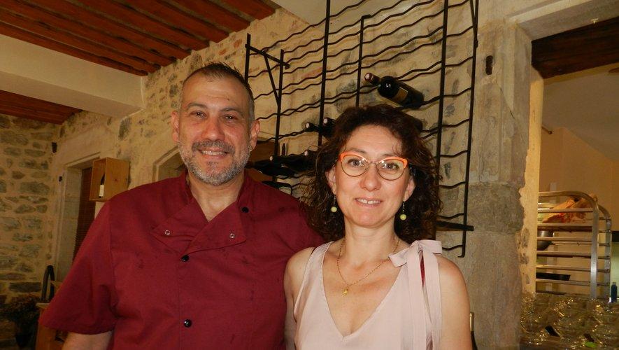 Franck Desimpelaere et Caroline Garcia sont à la tête de l'Estaminet.