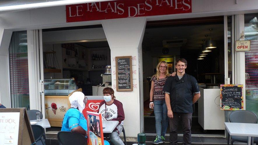 Céline et Fabrice Charlemagne./Photo FEG