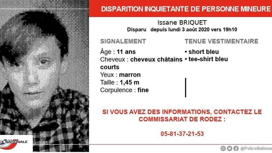 Le jeune homme avait disparu depuis lundi 3 août, en début de soirée.