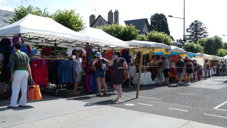 Succès pour le marché des artisans