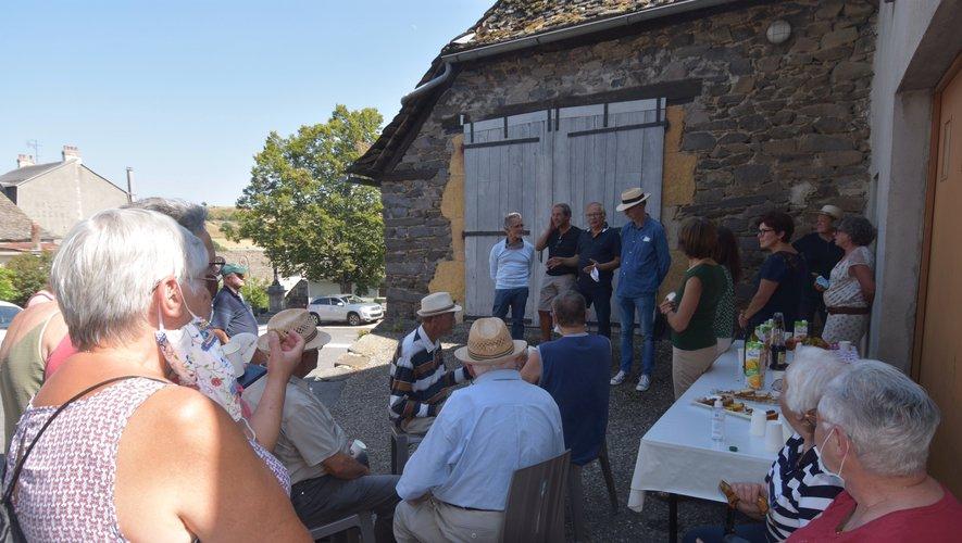 Inauguration de l'expo photo du village