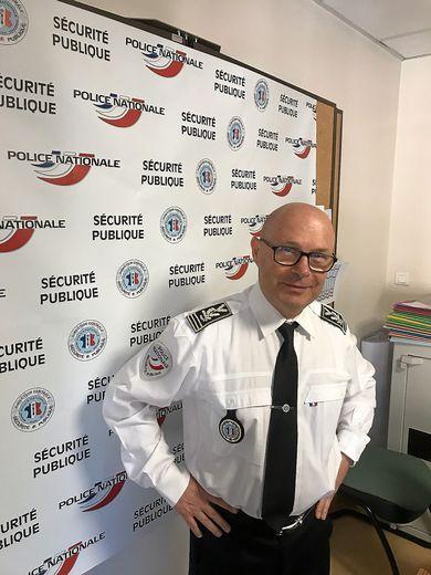 Jérôme Buil, directeur départemental de la sécurité publique.