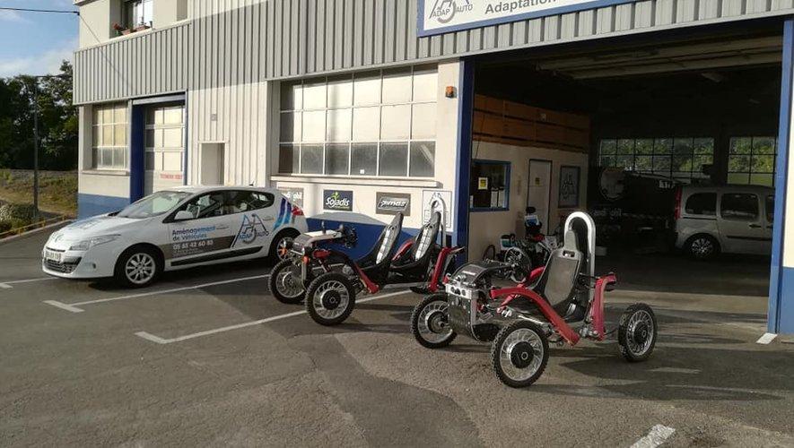 Une nouvelle aventure pour Adap-Auto, spécialisé dans l'aménagement de véhicule pour personnes handicapées.