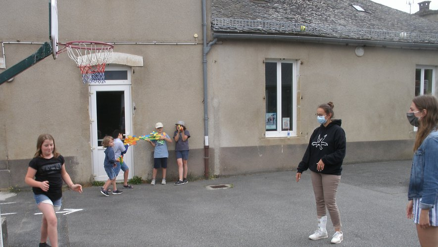 Les enfants ont retrouvé leur centre aéré.