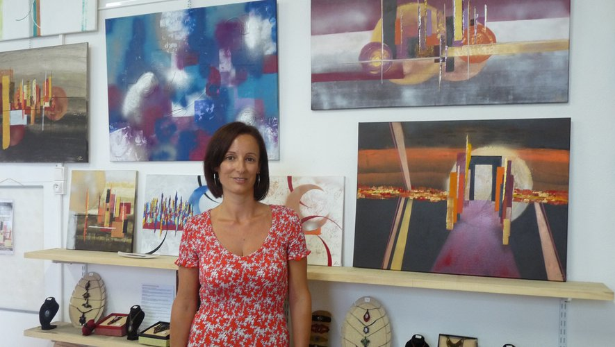 Une première exposition pour Patricia Lambert.