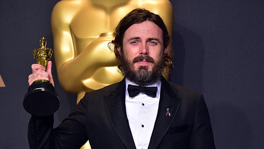"""Casey Affleck a reçu un Oscar en 2017 pour son rôle dans """"Manchester by the sea"""""""