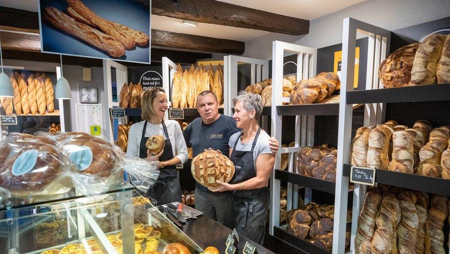 Institution ruthénoise, la boulangerie Druilhe est installée au pied de la cathédrale.