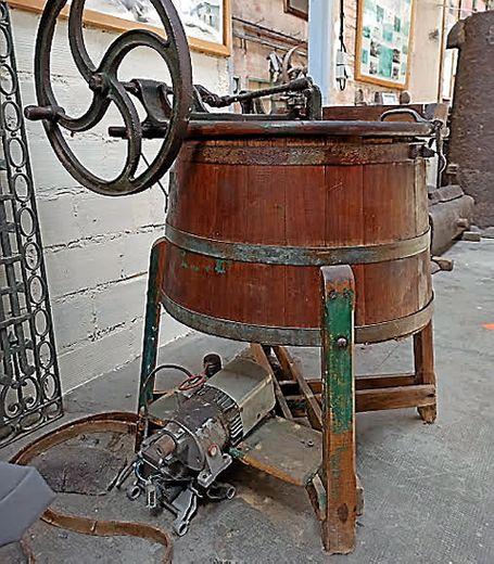 Machine à laver en bois version 1930
