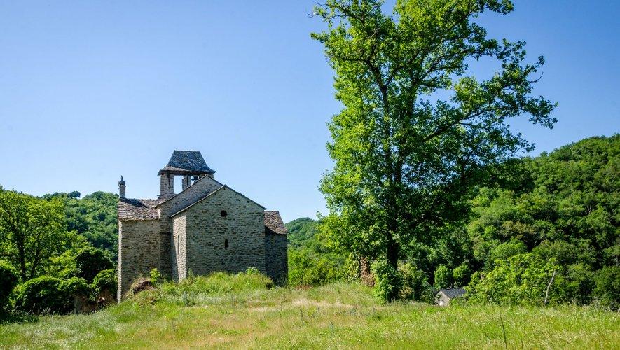 La chapelle de Villelongue qui abrite le musée de la Résistance.