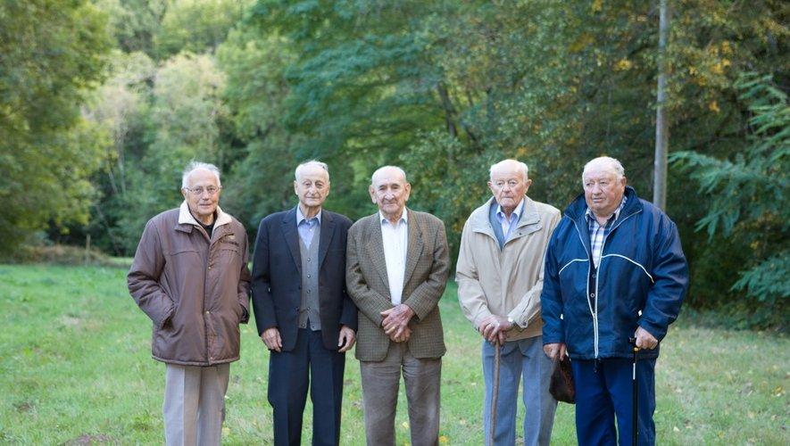 Les anciens du maquis Antoine.