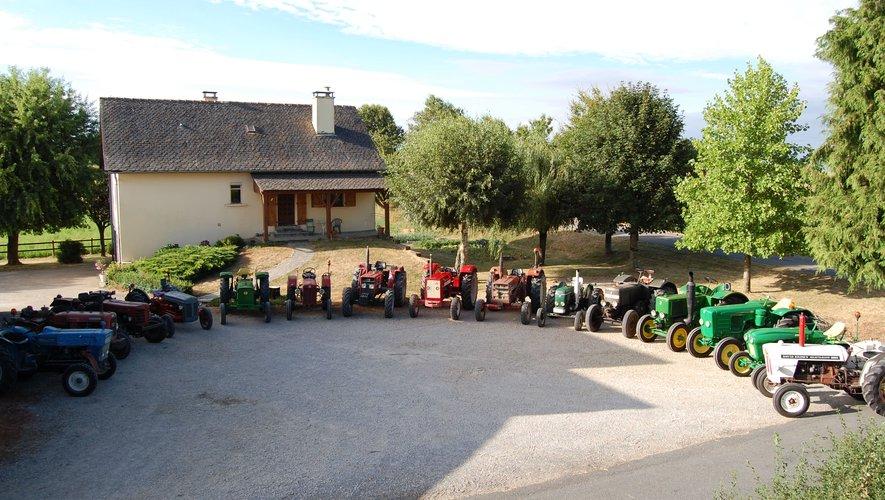 La traditionnelle balade des tracteurs.