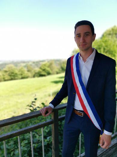 Pierre Ignace, nouveau maire.